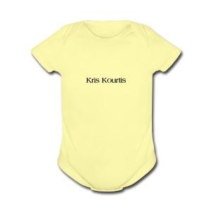 Kris Kourtis - Short Sleeve Baby Bodysuit