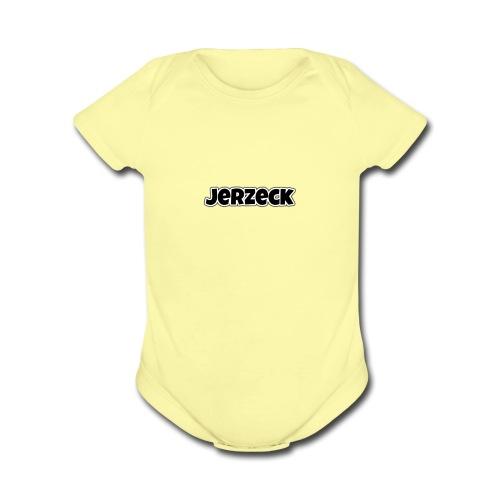 Jerzeck - Organic Short Sleeve Baby Bodysuit