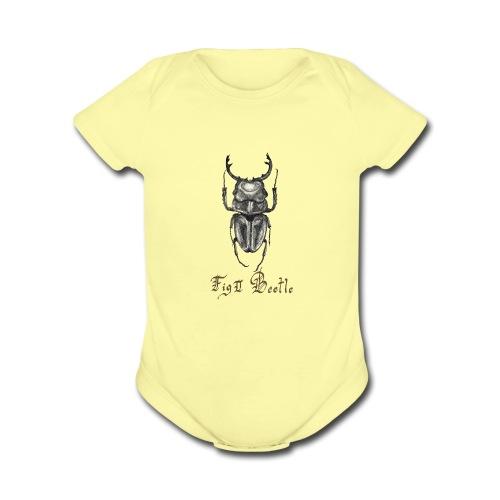 Beetle - Organic Short Sleeve Baby Bodysuit