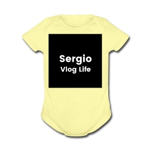 Sergio Lopez - Short Sleeve Baby Bodysuit
