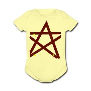 Scary Funny Halloween Costume T Shirt - Short Sleeve Baby Bodysuit