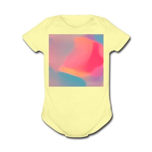 Diffuse Colour - Organic Short Sleeve Baby Bodysuit