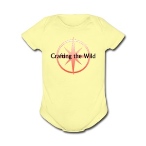 Crafting The Wild - Short Sleeve Baby Bodysuit