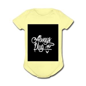 Always Plug - Short Sleeve Baby Bodysuit