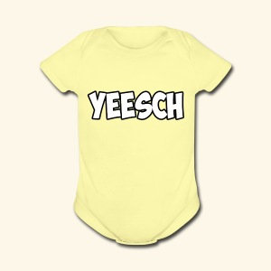 front - Short Sleeve Baby Bodysuit