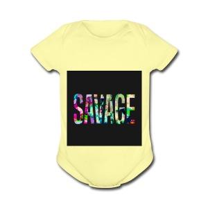 Savage Wear - Short Sleeve Baby Bodysuit