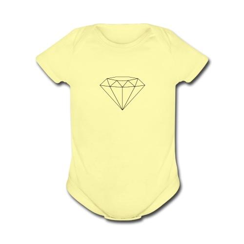 WooGang - Organic Short Sleeve Baby Bodysuit
