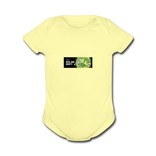 flippy - Organic Short Sleeve Baby Bodysuit