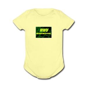 MWV vlogs - Short Sleeve Baby Bodysuit