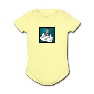 Salman khan shayri photo - Short Sleeve Baby Bodysuit