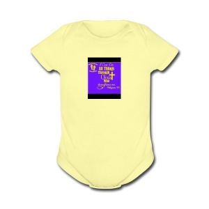 IMG 0679 - Short Sleeve Baby Bodysuit
