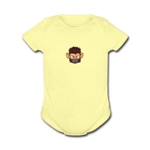 CloudOnIck - Short Sleeve Baby Bodysuit