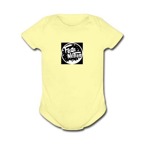 FaZe Nation shirt - Organic Short Sleeve Baby Bodysuit