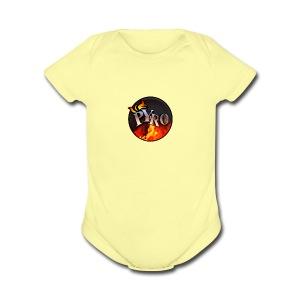 PYRO MERCH - Short Sleeve Baby Bodysuit
