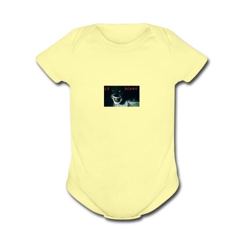 It scary merch - Organic Short Sleeve Baby Bodysuit