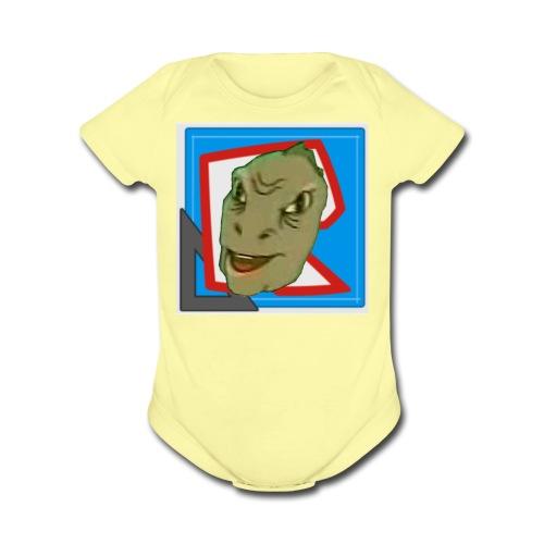 WOC AWT Logo Shirt - Organic Short Sleeve Baby Bodysuit