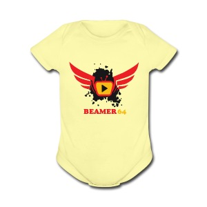 Beamer64 support Logo - Short Sleeve Baby Bodysuit