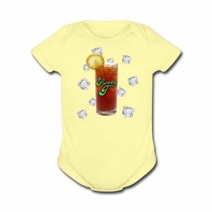 Sweet T Tea-Shirts - Short Sleeve Baby Bodysuit