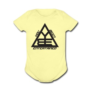 You Been Entertained - Short Sleeve Baby Bodysuit