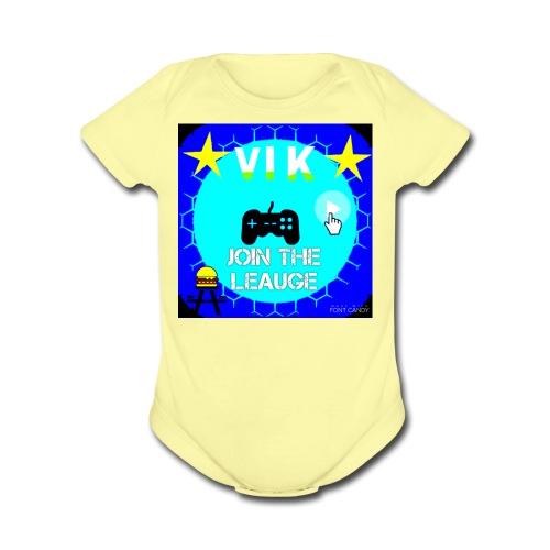 MInerVik Merch - Organic Short Sleeve Baby Bodysuit