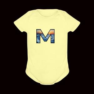 Mjpj - Short Sleeve Baby Bodysuit