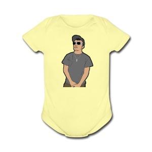 logo design - Short Sleeve Baby Bodysuit