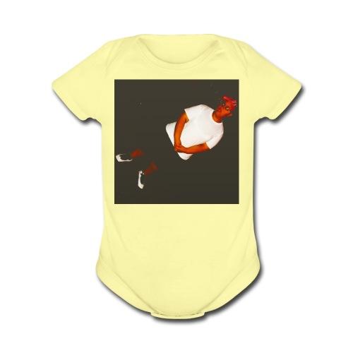 Ashley M Merch - Organic Short Sleeve Baby Bodysuit