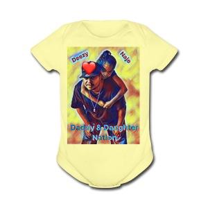 Deezy & Naje - Short Sleeve Baby Bodysuit