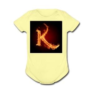 kay - Short Sleeve Baby Bodysuit