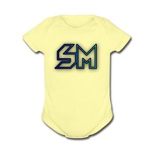 cooltext252519886767449 - Short Sleeve Baby Bodysuit