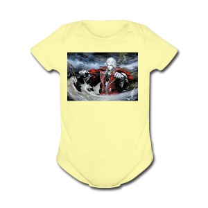 Castlevania:Symphony Of The Night - Short Sleeve Baby Bodysuit