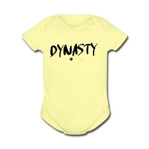 DYNASTY246 - Short Sleeve Baby Bodysuit