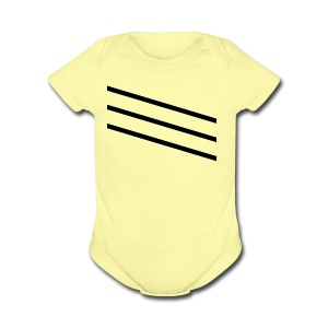 slash - Short Sleeve Baby Bodysuit