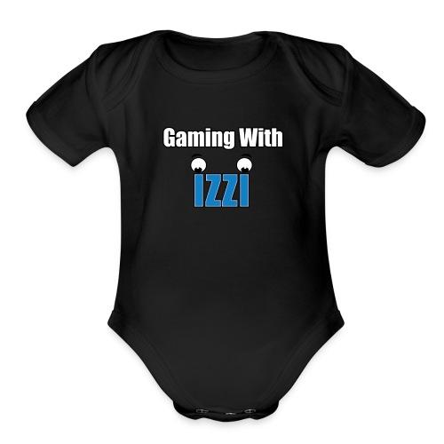 Gaming With Izzi - Organic Short Sleeve Baby Bodysuit