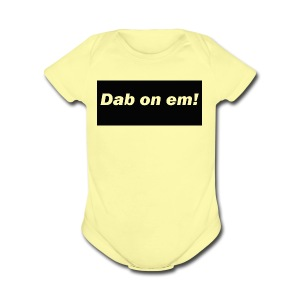 dabonemee - Short Sleeve Baby Bodysuit