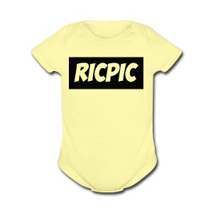 Ricpic Shirt - Short Sleeve Baby Bodysuit