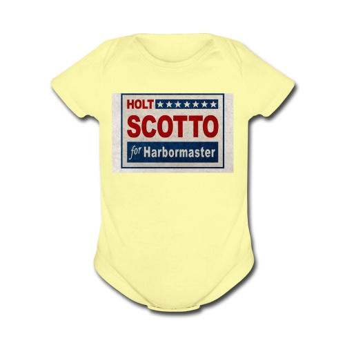 Vote 4 Holt - Organic Short Sleeve Baby Bodysuit