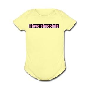IMG 2991 - Short Sleeve Baby Bodysuit