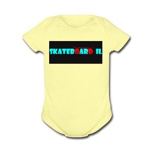 logo og - Short Sleeve Baby Bodysuit