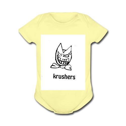 AnonymousMask - Organic Short Sleeve Baby Bodysuit