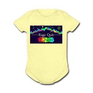 Rage Quitting - Short Sleeve Baby Bodysuit