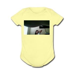WIN 20170807 14 52 04 Pro - Short Sleeve Baby Bodysuit