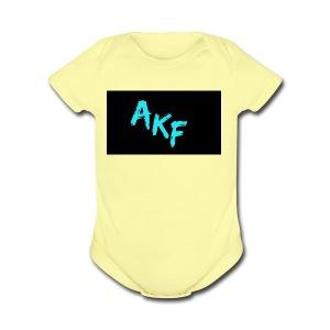 anthonykidfresh - Short Sleeve Baby Bodysuit