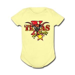 Texas 01 - Short Sleeve Baby Bodysuit