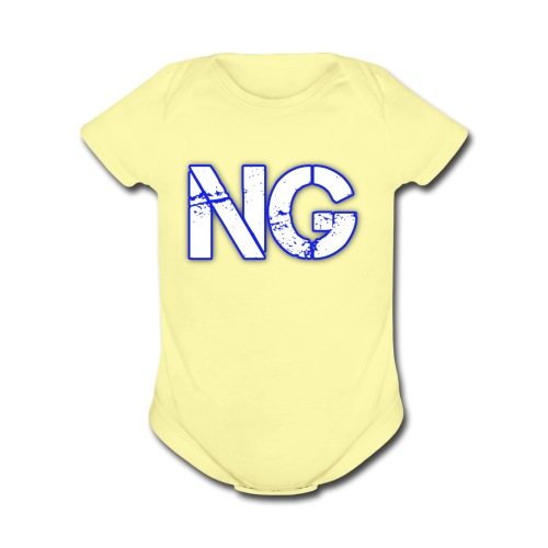 cooltext221976116542463 - Organic Short Sleeve Baby Bodysuit