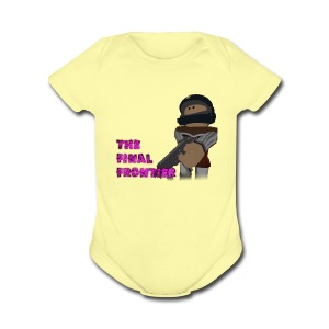 The Final Frontier Sports Items - Short Sleeve Baby Bodysuit