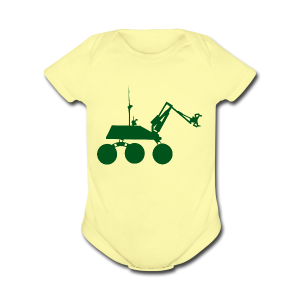 USST Rover Green - Short Sleeve Baby Bodysuit