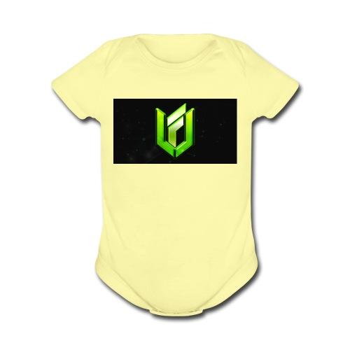 IMG 0807 - Organic Short Sleeve Baby Bodysuit