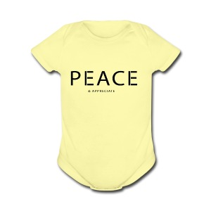 Original Intention - Short Sleeve Baby Bodysuit