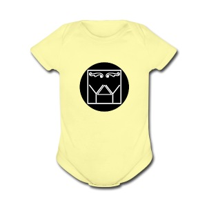 Year After Year Nyc Original Logo - Short Sleeve Baby Bodysuit